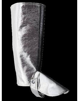 Paire de Guêtres Protection thermique gris aluminisé